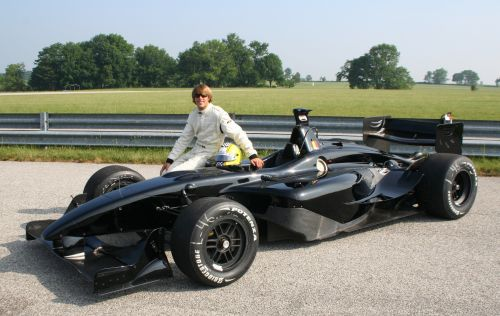 Jan Heylen looks back at his first test with the Panoz DP01 ...