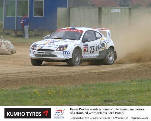 British Rallycross-Championship - Local stars aim for British glory at Croft