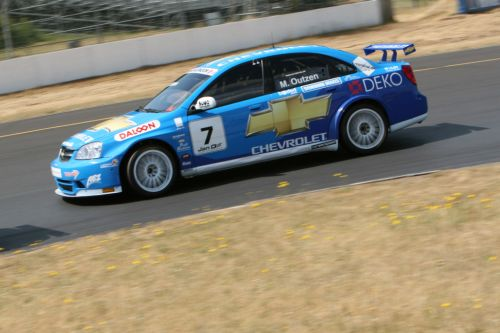 A hot and tough day for Chevrolet Motorsport Danmark