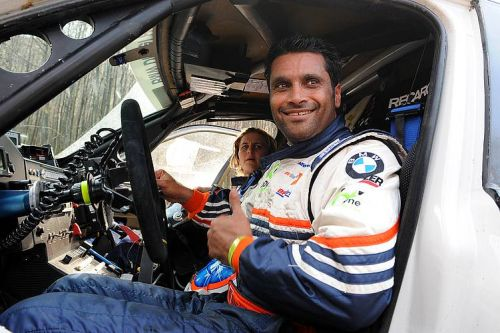 X-Raid's Al-Attiyah forces his way into fourth place in Central Europe Rally