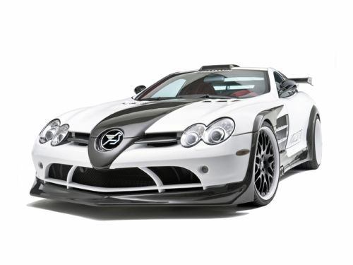 Hamann Volcano: Basis Mercedes-Benz SLR