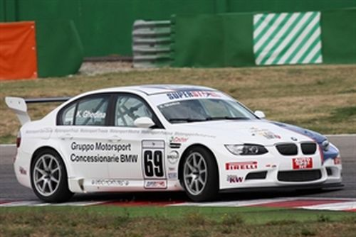 Kristian Ghedina fifth at the debut with the BMW M3 in Misano