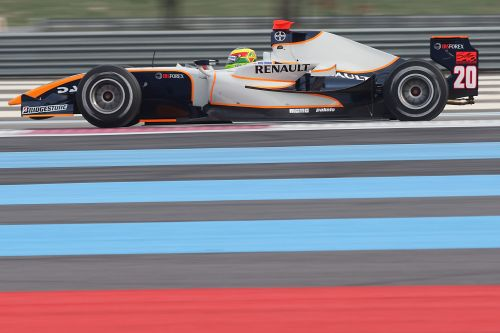 Trident Racing shines at Paul Ricard,Conway hits 3rd place on Day 1