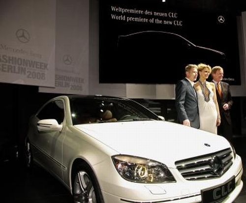 "Mercedes-Benz ""Writing Instruments"" at Fashion Week Berlin"