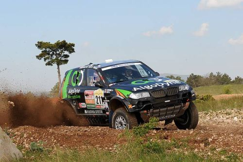 X-Raid's Bruno Saby maintains push for top five