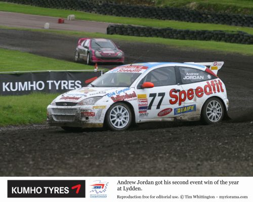 Andrew Jordan wins as rain stops play at Lydden