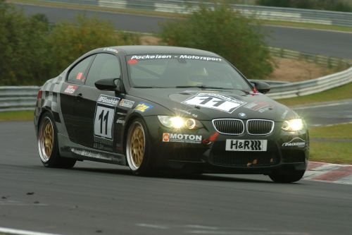 Packeisen Motorsport M3 GT2 V8 erste Tests im April 2008