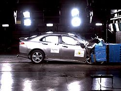 Honda Accord Achieves Highest Overall Rating in EuroNCAP Crash Tests