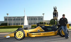 Indy Experience Finally Sinks In  for 2009 Indy 500 Rookie of the Year Alex Tagliani