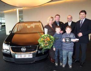 Einmillionster Volkswagen Touran ausgeliefert
