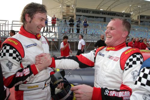 Johnny Herbert takes his first win in Bahrain