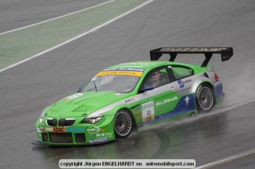 Challenges at Hockenheim for BMW ALPINA in the GT Masters Series.