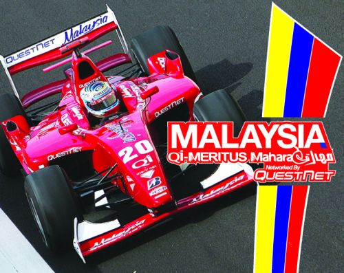 Malaysian team Meritus GP shines in Formula BMW Pacific free practice