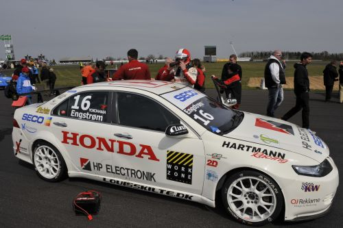 Set up error ruined first Scandinavian race for Hartmann Honda Racing