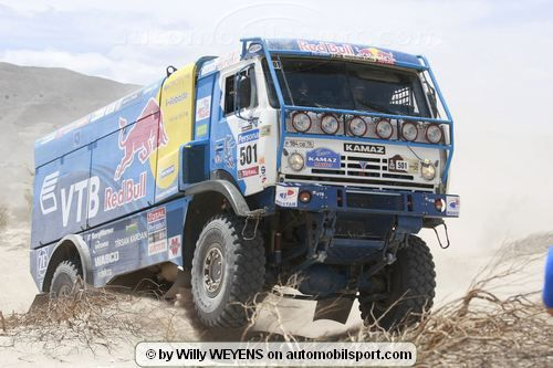 Vladimir Chagin wins the Dakar of all records for him !