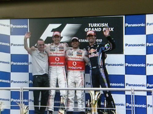 Istanbul Park  - F1 Race results