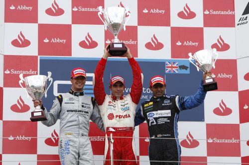 Podium finish and more points for Zuber at Silverstone