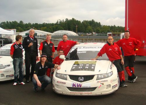 Hartmann Honda Racing in partnership with KW Suspension for 2010