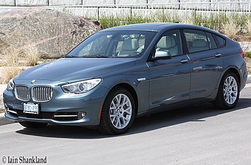 BMW 550i Gran Turismo Road Test