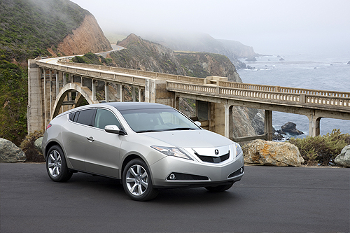 Acura ZDX - SH-AWD  Road Test 2010