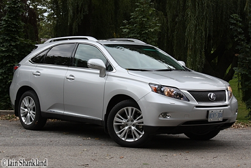Lexus RX 450h Road test