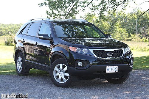 Kia Sorento LX V-6 Road test