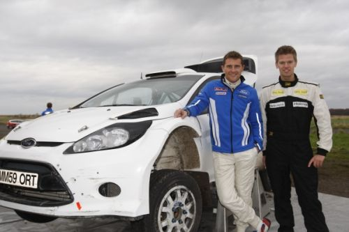 Steve Røkland celebrates Shootout Victory with thrilling ride in Fiesta S2000