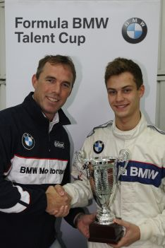 Tristan Viidas wins a season in the Formula BMW Talent Cup 2012.