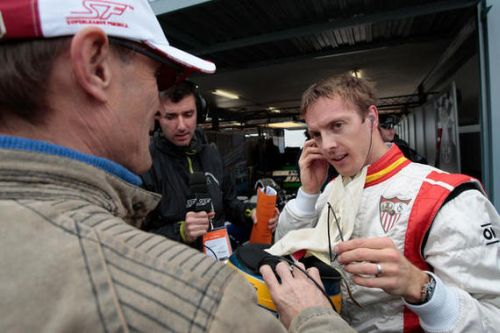 Sevilla's Bourdais takes first pole as title contenders struggle