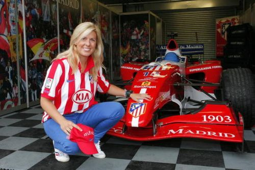 Maria de Villota signs for Atletico Madrid to become....