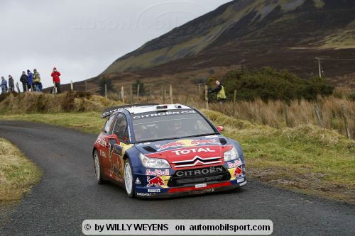 WRC Rallyes - Loeb and Sordo on top - morning review