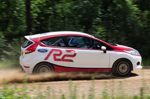 All new Ford Fiesta R2 impresses as European tour kicks off