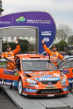 Stobart VK M-Sport Ford Rally Team treble up at Rally Ireland