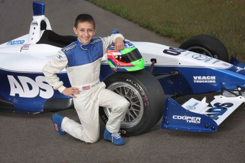 Fifteen-Year-Old Zach Veach and Jensen MotorSport Join Forces ...