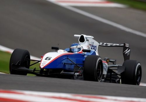 Fabio Leimer takes pole on F1 soil in Spa