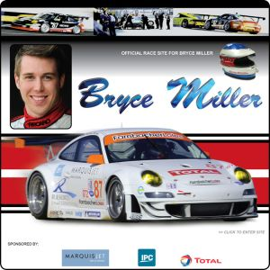 Bryce Miller en route to Belgium to participate in the world's biggest GT race