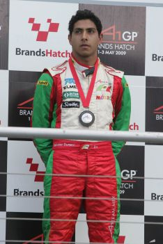 Podium for Mexico in Brands Hatch