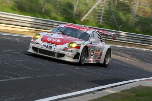 Kenneth Heyer with Porsche at the 24 hours of Nürburgring!