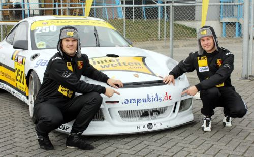 Kenneth Heyer & Philip Geipel : Pole position and P1 for 2 hours 22 minutes in Assen (NL)