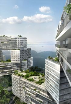 OMA unveils design for The Interlace residential complex in Singapore