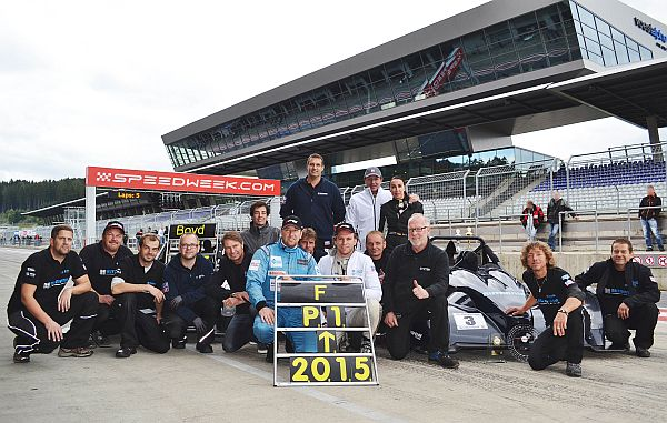 Team HCB-Rutronik Racing feiert Meisterschaft am Red Bull Ring
