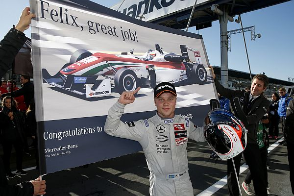 Felix Rosenqvist is the new FIA Formula 3 European Champion