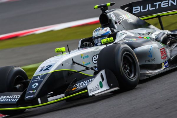 Malja takes second points finish of Silverstone weekend in action-packed race two