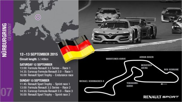 "World Series by Renault event the turn of the ""Ring""!"