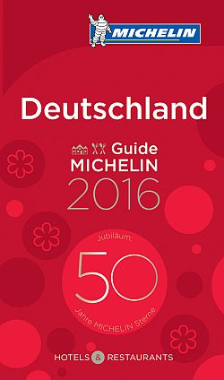 Guide MICHELIN Deutschland 2016 kommt am 13. November in den Handel