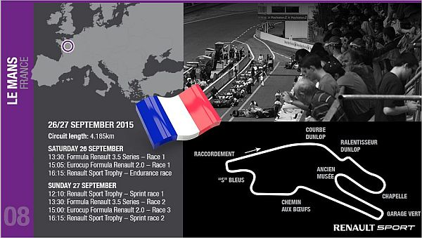 World Series by Renault first titles decided at Le Mans?