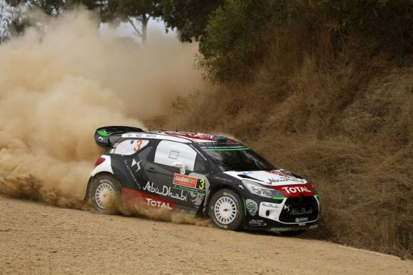 Kris Meeke two seconds off the pace in Australia