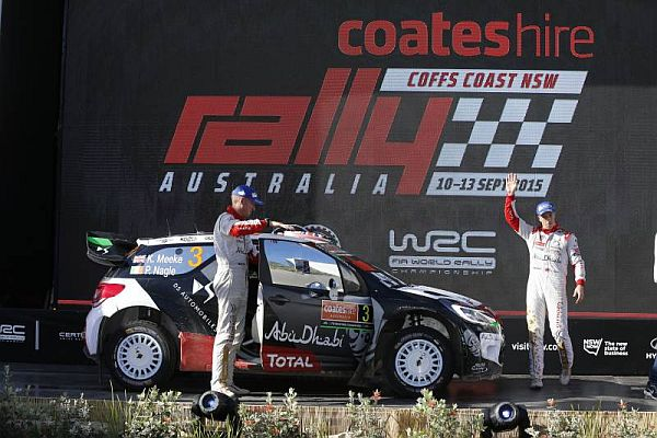 Deserved podium finish for Kris Meeke in Australia