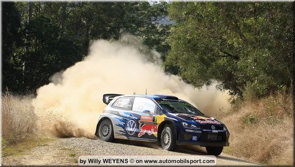Coates Hire Australia Rally Saturday notes and standings