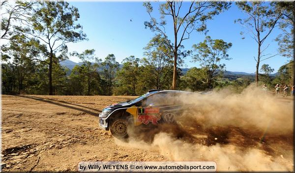 Volkswagen trio on course for the podium in Australia, Ogier at the front